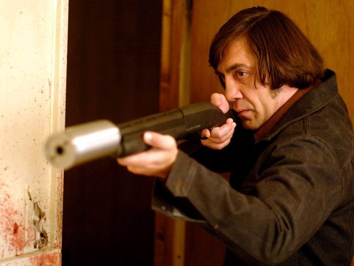 No Country For Old Men Anton Chigurh Javier Bardem 32x24 Print POSTER