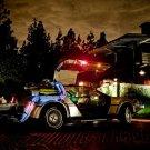 DeLorean Back To The Future Car Movie 32x24 Print POSTER