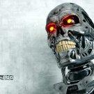 Terminator T 800 Skeleton Head Movie 32x24 Print POSTER