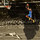 Serge Ibaka Slam Dunk Contest Free Throw Line NBA Basketball 32x24 POSTER