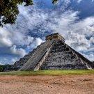 Chichen Itza Maya Mexico Pyramid Around The World 32x24 POSTER