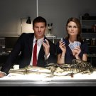 Skeleton Poker Emily Deschanel David Boreanaz Bones TV Series 32x24 POSTER