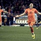 Arjen Robben Goal Celebration Netherlands 32x24 Print POSTER