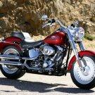 Harley Davidson Softail Fat Boy Custom 32x24 Print POSTER