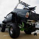Black Giant Monster Truck Bigfoot Car 32x24 Print POSTER