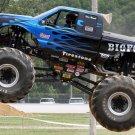 Firestone Jump Monster Truck Car Bigfoot 32x24 Print POSTER