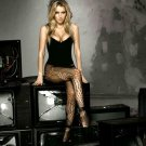 Hot Blonde Girl Sexy Boobs Stocking 32x24 Print POSTER