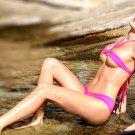 Horny Wet Babe Pretty Titts Bikini 32x24 Print POSTER