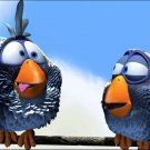For The Birds Pixar Funny Movies 32x24 Print POSTER