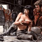 Hot Girl Sexy Titts North Pole Art 32x24 Print POSTER