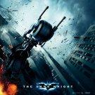 BATCYCLE Jump Batman Dark Knight 32x24 Print Poster