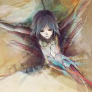 CHEZA Wolf S Rain Manga Anime Art 32x24 Print Poster