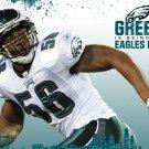 Akeem Jordan Philadelphia Eagles NFL 32x24 Print Poster