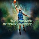 Tyson Chandler Comeback NBA 32x24 Print Poster