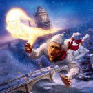 A Christmas Carol Jimmy Carry Cartoon 32x24 Print POSTER