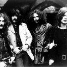 Black Sabbath Heavy Metal Band Music BW 32x24 Print Poster