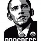 Barack Obama Portrait Art BW 32x24 Print Poster