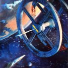 A Space Odyssey 1968 Movie Vintage 32x24 Print Poster