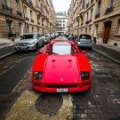 Ferrari F40 Red Supercar 32x24 Print Poster