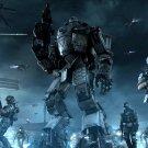 TitanFall Army Night Mech Video Game Art 32x24 Print Poster