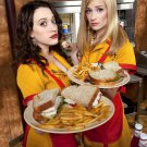 2 Broke Girls TV Series 32x24 Print Poster