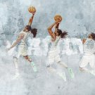 Kenneth Faried Manimal Art Dunk Sport 32x24 Print Poster