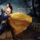 Beauty And The Beast Cool Photo Art 32x24 Print Poster