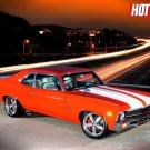 American Hot Rod TV Show Muscle Car 32x24 Print Poster