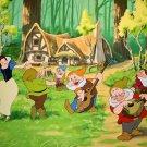 Snow White And The Seven Dwarfs Walt Disney 32x24 Print Poster