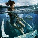 Tomb Raider Underworld Lara Croft Art 32x24 Print Poster