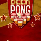 Beer Pong Alcohol Drinking Game Cool 32x24 Print Poster