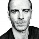 Michael Fassbender Portrait BW Movie Actor 32x24 Print Poster