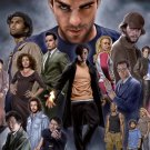 Heroes Characters Cast Art TV Series 32x24 Print Poster