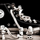 Lego Stormtroopers Sneaker Star Wars Sci Fi 16x12 Print POSTER