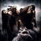 Luis Royo Hot Girl Orc Cemetery Dark Fantasy Art 16x12 Print Poster