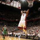 Lebron James Slam Dunk Miami Heat NBA Basketball Sport 16x12 Print POSTER