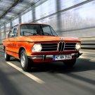 BMW 2002 New Class Orange Car Classic Neue Klasse Sport 16x12 Print POSTER