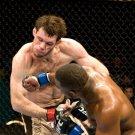 Rashad Evans Vs Forrest Griffin MMA 16x12 Print POSTER