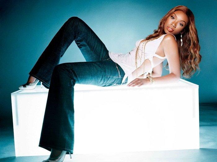Brandy Norwood Hot Singer R B Music 16x12 Print POSTER