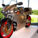 Ducati 916 Senna Super Sport Bike 16x12 Print POSTER