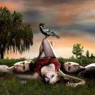The Vampire Diaries Crow Movie 16x12 Print POSTER