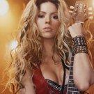 Shakira Sexy Guitar Hottest Women 16x12 Print Poster