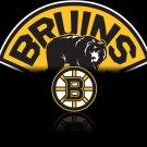 Boston Bruins Logo NHL 16x12 Print Poster