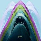 Jaws Graphic Movie Johnnymex 16x12 Print POSTER