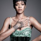 Rihanna Singer Raggae R N B Music 16x12 Print POSTER