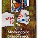 To Kill A Mockingbird 1962 Movie Vintage 16x12 Print Poster
