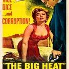 The Big Heat Retro Movie Classic Vintage 16x12 Print Poster