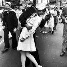 Sailor S Kiss Aug 14 1945 Retro Classic BW 16x12 Print Poster