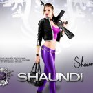 Saints Row 4 IV Game Shaundi 16x12 Print Poster