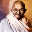 Mahatma Gandhi Drawing 16x12 Print Poster